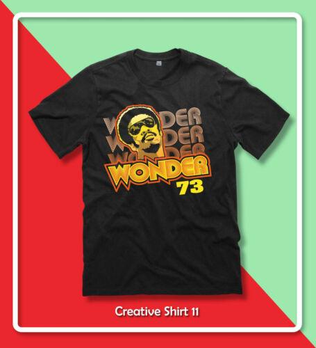 stevie wonder 73 rare BERKELEY /'73 T-Shirt S-2XL Gildan cotton