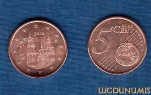Spanien 2016 5 Cent Euro Münze Neu Rolle Spanien Ebay
