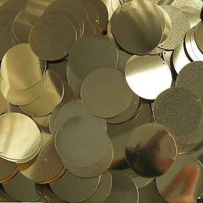 Zwierig 30mm Round Flat Sequins Paillette Rich Egyptian Gold Shiny Metallic. Made In Usa Meer Kortingen Verrassingen