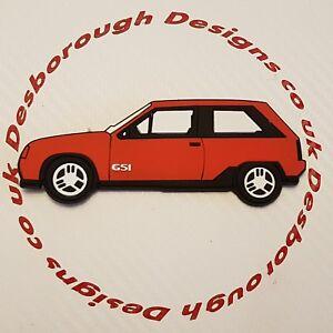 Vauxhall Key Ring Nova Opel Corsa Gte Gsi Fridge Magnet In Red Ebay