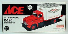 Ace Hardware 1957 International Dry Goods Van 1:34 Scale Limited Ed Free Ship