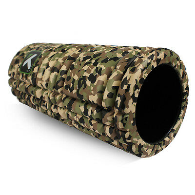 Camo Trigger point performance GRID Foam Roller Free instructional videos