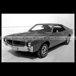 #pha.003080 Photo AMC JAVELIN 1968 Car Auto alUTEL0K-09104015-956236432