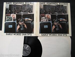 DAVE-EDMUNDS-Rocker-Early-Works-1968-1972-French-1978-2-LP-Set-Love-Sculpture
