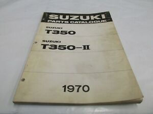 1969-1970-OEM-Suzuki-T350-REBEL-Parts-Catalogue-List-Manual-OEM-Factory