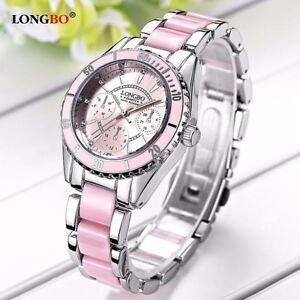 LONGBO-Designer-Ladies-Girls-Women-039-s-luxury-party-and-Dress-watch