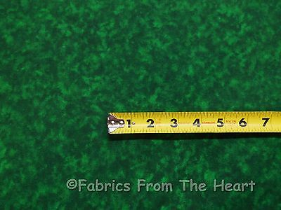 """108"""" Wide Hunter Green Solid Blender Quilt Backing BY YARD Sewing Cotton Fabric"""