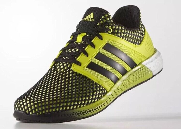 Adidas Solar Boost 8 Neon Yellow Green Black White Men Running Shoes NMD S42060