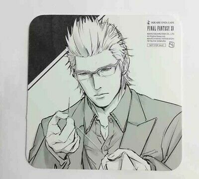 Final Fantasy XV Clear File Document Folder Prompto Ignis Square Enix Cafe Game