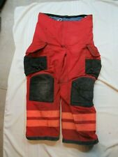 Lion Janesville 38r Firefighter Turnout Bunker Gear Pants Rescue Tow