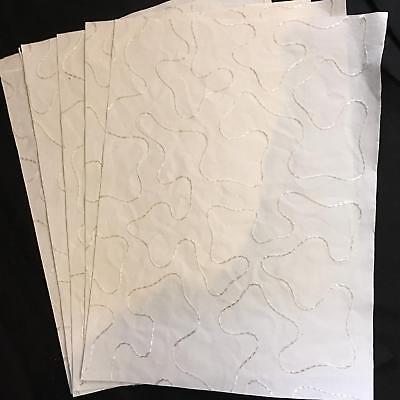 Handmade Mulberry Paper 5 sheets art/craft/decoupage/silk ...