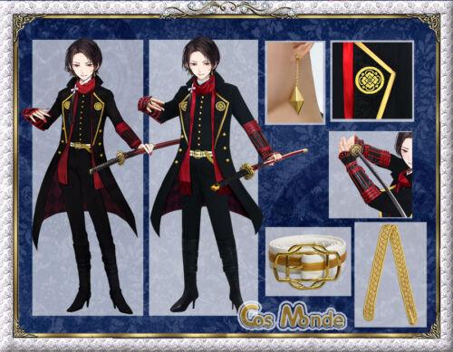 Japan anime The Sword Dance touken ranbu Kashuu Kiyomitsu cosplay deluxe set
