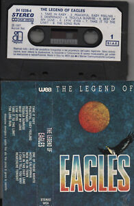 EAGLES musicassetta mc originale THE LEGEND OF 1987 tape 14 brani - Italia - EAGLES musicassetta mc originale THE LEGEND OF 1987 tape 14 brani - Italia