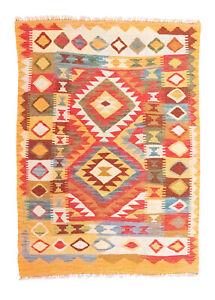 L-Af-Kelim-Tapis-146-X-106-cm-Multicolore-Tisse-a-la-Main