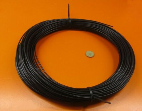 "1 Lb .125/"" Polypropylene Black Welding Rod Coil 1//8/"" Dia 220 Feet"