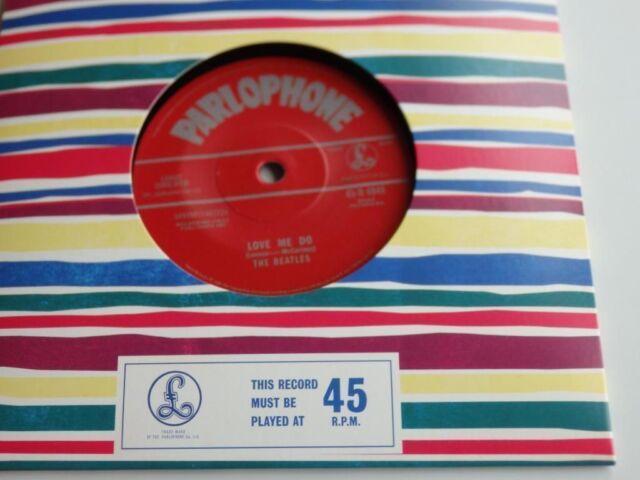 The Beatles Love Me Do 45GB 50th Aniversario 2012 withdrawned 45 NUEVA
