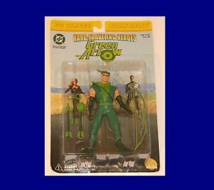 Dc Direct Flèche verte menthe sur carte Rare Action Figure From Comics !!