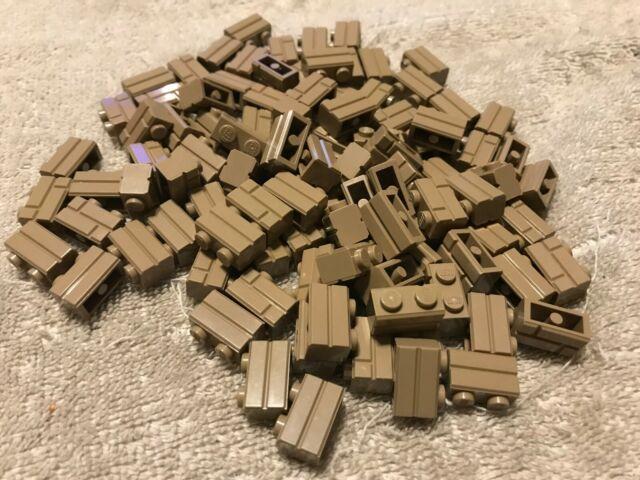 6X12 PLATES 8X8 PLATES LEGO DARK TAN PARTS 6X8 PLATES 100 98283 1X2 MASONRY