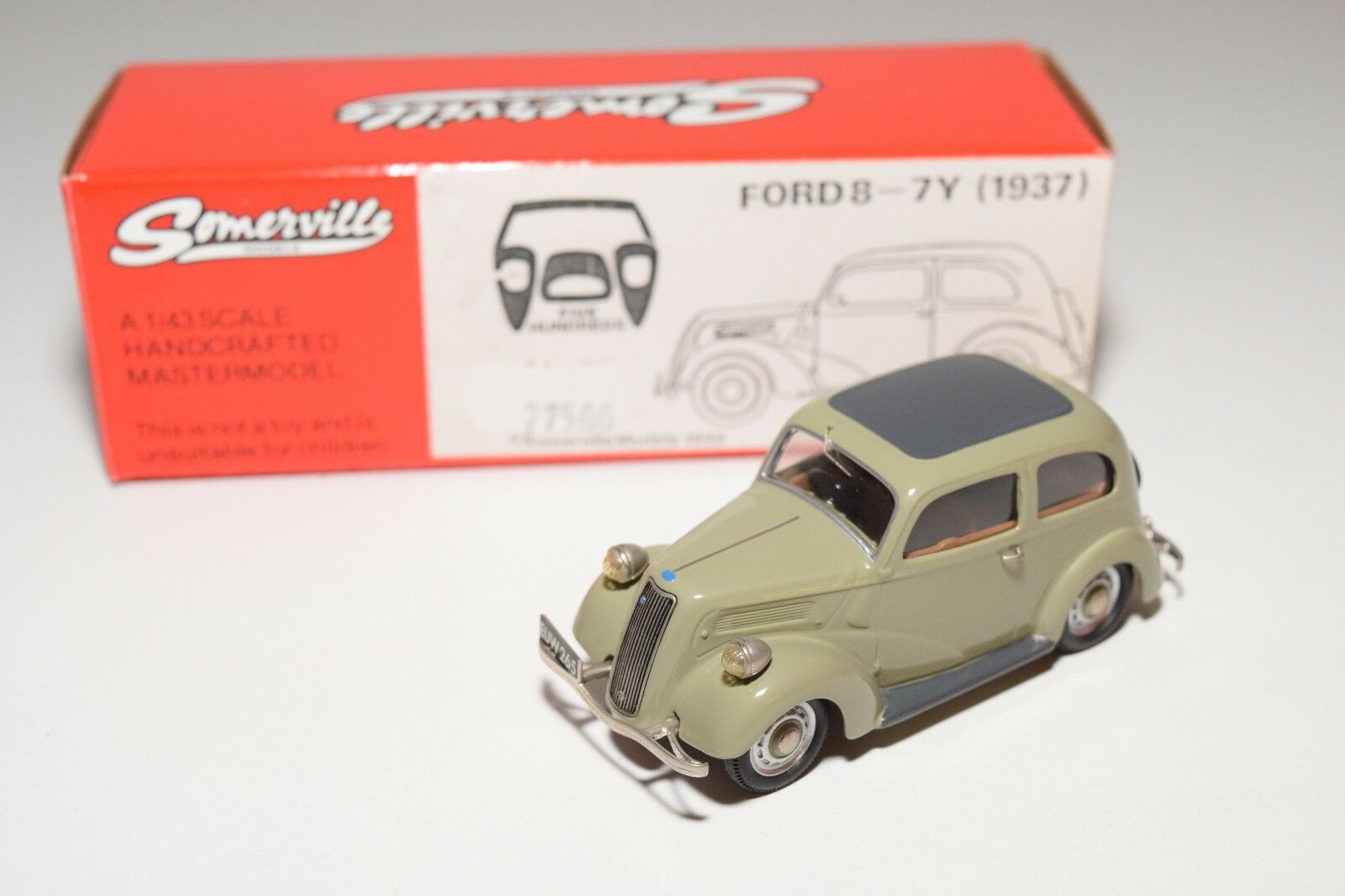 SOMERVILLE MODELS 145 FORD PERFECT 8-7Y 2018 Gris MINT BOXED 12/500 RARE