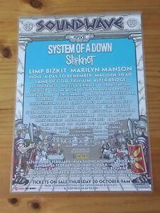 SOUNDWAVE-2012-AUSTRALIA-Tour-Laminated-Promo-Tour-Poster