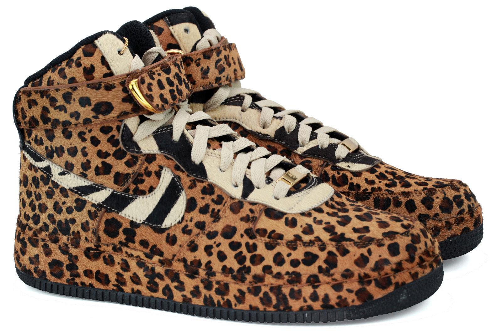 RARE Nike Air Force 1 High Poleberg X Hanni Collab AF1 Bespoke Supreme Leopard