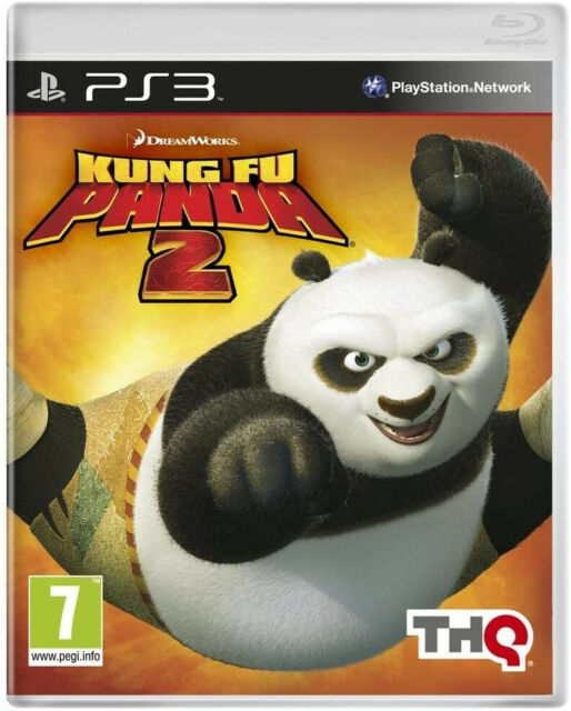 DreamWorks Kung Fu Panda 2 Jeu Sony Playstation 3 PS3 Occasion PAL FR