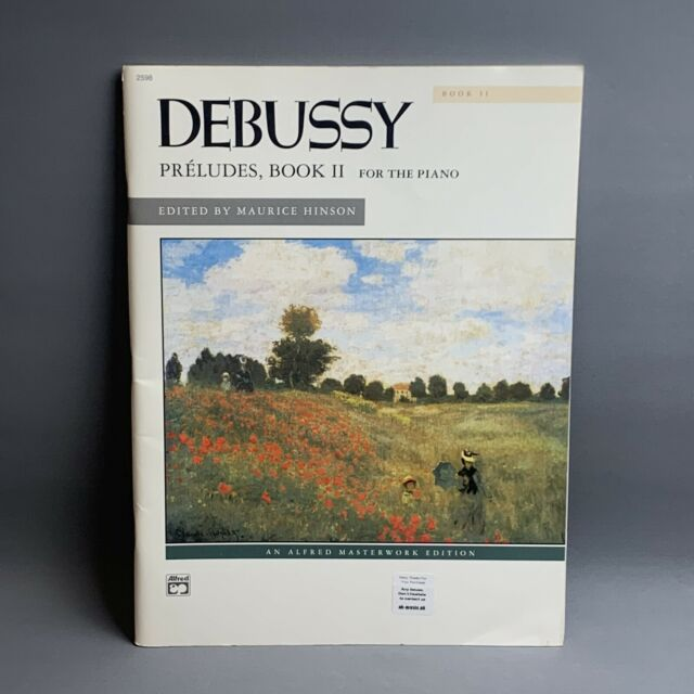 Claude Debussy : Preludes Book 2 by Maurice Hinson 🎹 Piano Sheet Music