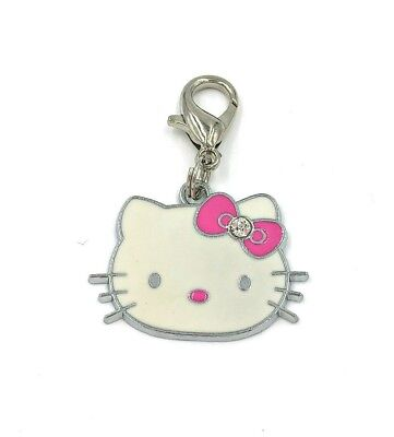 Dangle Pendant Hello Kitty Clip On Charm Lobster Clasp Fits Link Chain C198
