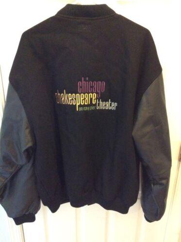 Chicago Shakespeare Theatre Varsity Jacket Black L