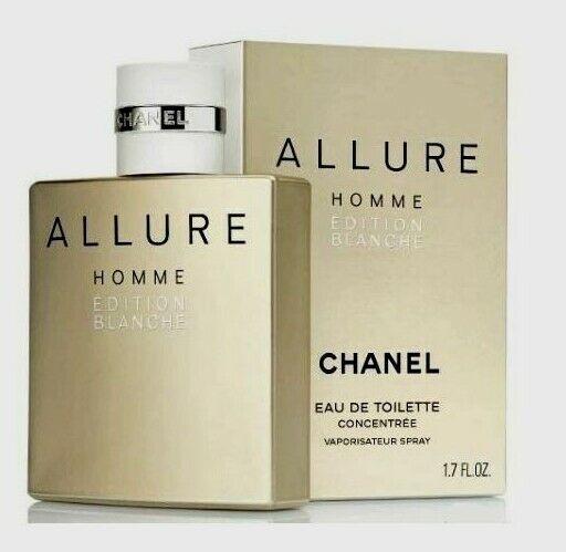 1b57edf29 CHANEL Allure Homme Edition Blanche EDP Spray 50 Ml for sale online | eBay