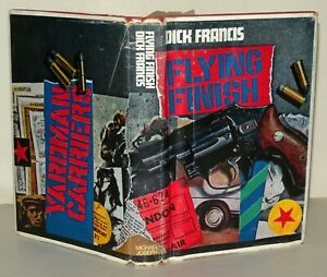 Dick-Francis-Flying-Finish-1st-Edition-1966-Hardback-With-Dustjacket