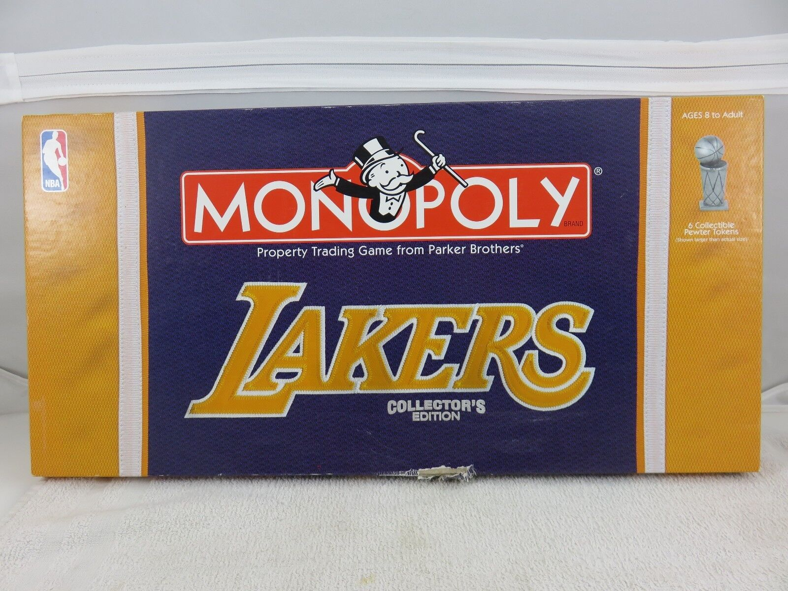 MONOPOLY Los Angeles Lakers Collector's Edition 2007 USAopoly