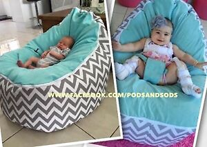 Miraculous Details About Baby Bean Bag Large Size Chair With Harness For Newborn Bubs Through Teen Years Gmtry Best Dining Table And Chair Ideas Images Gmtryco