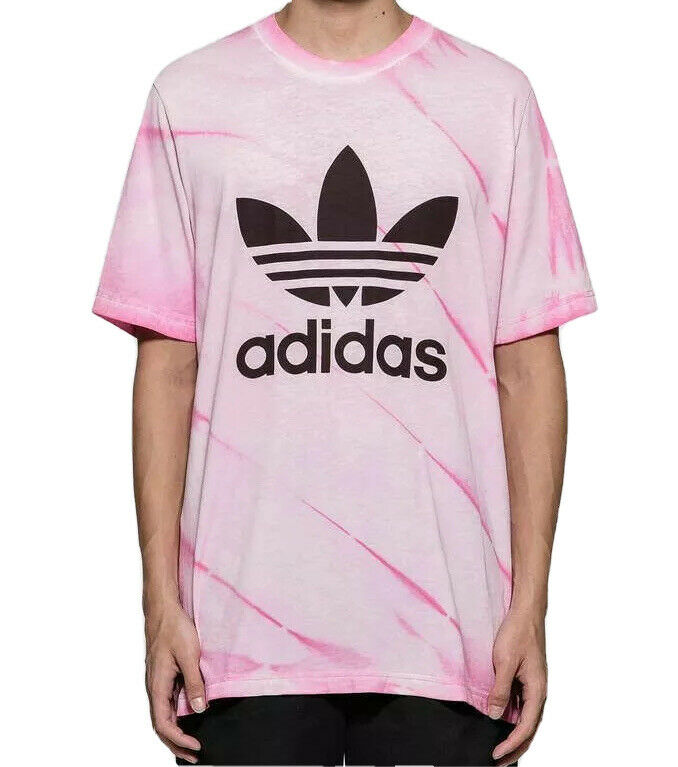 Adidas Originals Mens Trefoil Flames Gold 100/% Cotton T-shirt Top Tee New