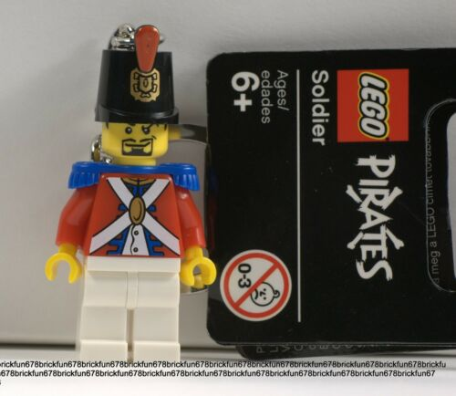 LEGO NEW Imperial Pirates Soldier Minifigure Key chain With Tag 10210