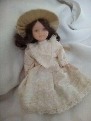 16cm Bambola Di Ceramica In Abiti Vintage-mostra Il Titolo Originale Design Moderno