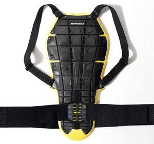 Paraschiena-protezione-da-moto-Spidi-Back-Warrior-Evo-Livello-2-Nero-giallo