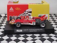 Policar Lotus 72 #2 Jochen rindtl Rojo CAR02A 1:32 Ranura Nuevo Y En Caja