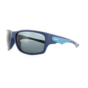 Polaroid Sport Sunglasses PLD 7012 S ZX9 C3 Blue Blue Polarized   eBay 627bcc876809