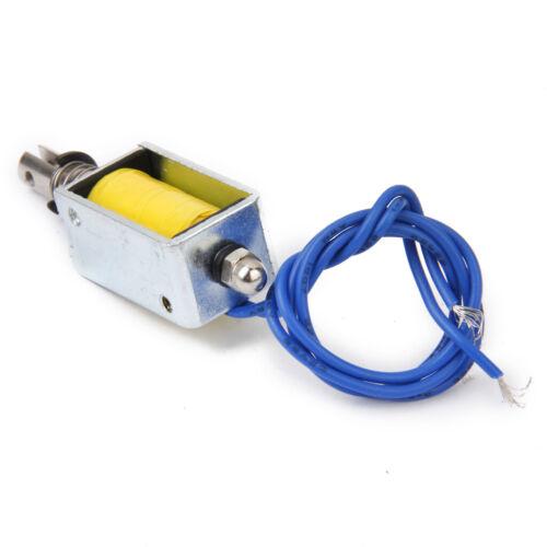 Dc 12v Push Pull Typ Offenen Rahmen Solenoid Elektromagnet Zye1 0730z