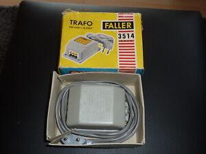 Faller AMS Trafo 3514/4016 für Rennbahn 16 Volt 0,8A 13 VA in O-Box THERMOSCHALT