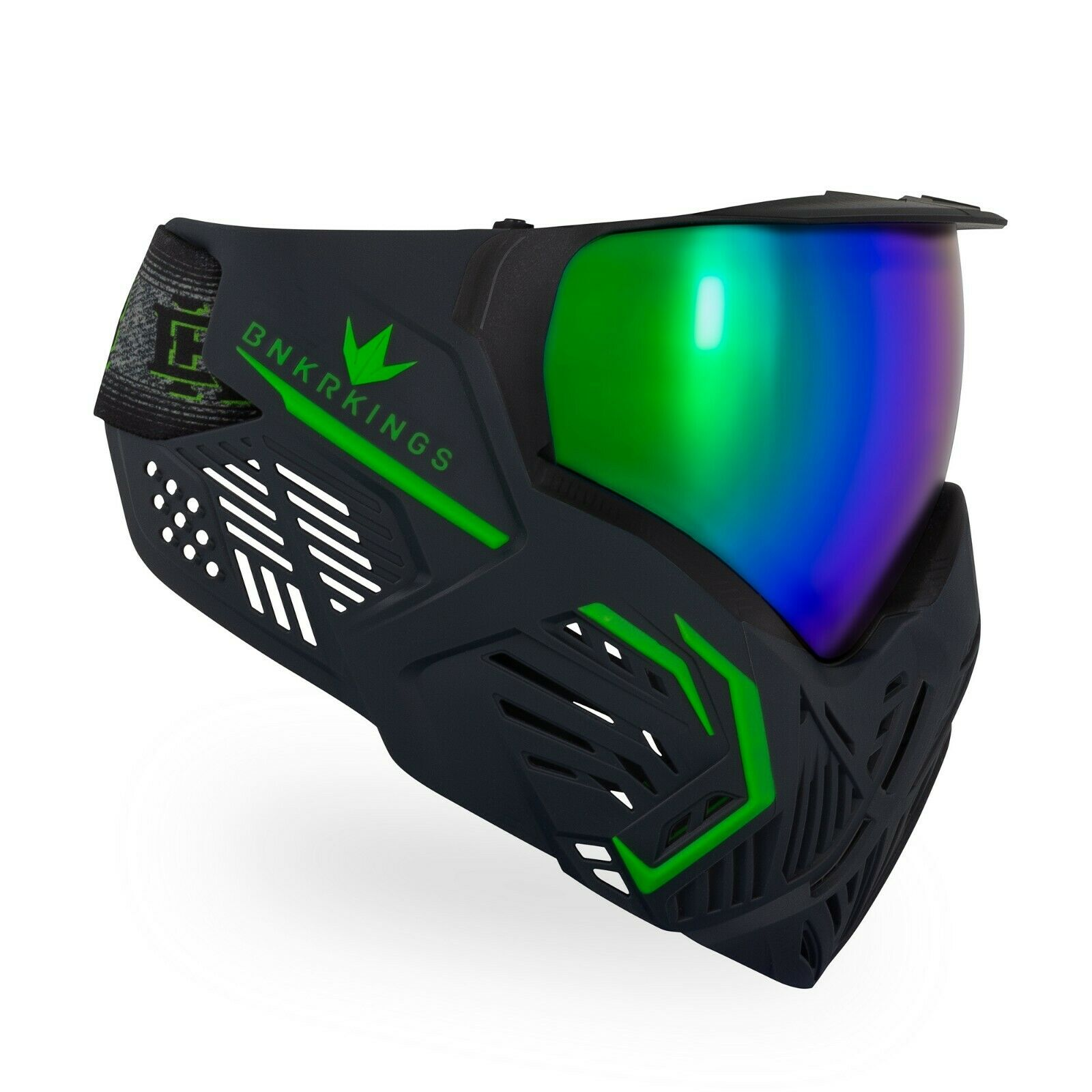 CMD de las Gafas Máscara de Paintball bunkerkings-ácido Negro