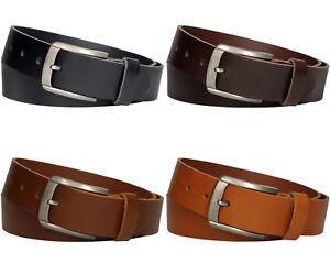 attraktive Designs Einkaufen ausgereifte Technologien Details zu Ledergürtel Herren Damen echt Leder Jeans Gürtel Hosen 4cm Belt  Riemen Vascavi