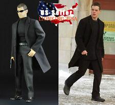 """1/6 Matt Damon The Bourne Supremacy Agent Coat Set For 12"""" Hot Toys Phicen ❶USA❶"""