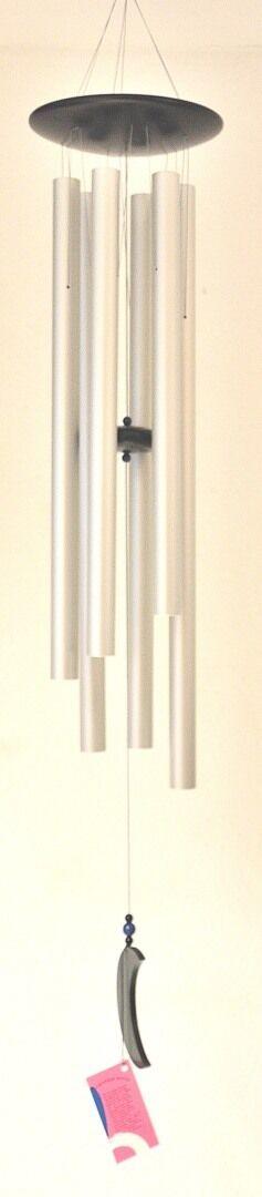 Vento Röhrenklangspiel Gioco SUONO Carillon Glockenspiel Legno Naturale argentoo