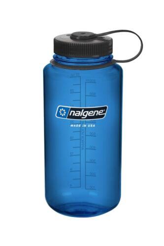 Nalgene botella everyday lejos cuello 1l outdoor azul tritan sabor neutral