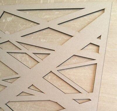 Radiateur Cabinet décoratif Screening Perforé 3 mm /& 6 mm épais MDF Laser Cut M