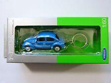 Welly Llavero VW Käfer azul claro en la 1:60 nuevo y emb. orig.
