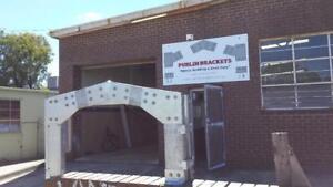 Purlin-Brackets-11-Degree-6inch-150mm-shed-1-Apex-2-Haunch-2-Base-Plate-Garage