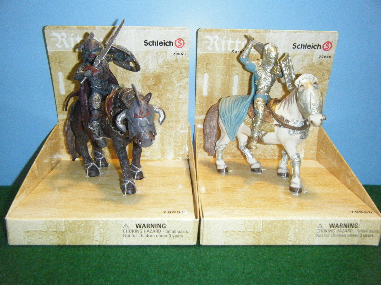 SCHLEICH ZAHOR & XAROK LOT OF 2  NEW